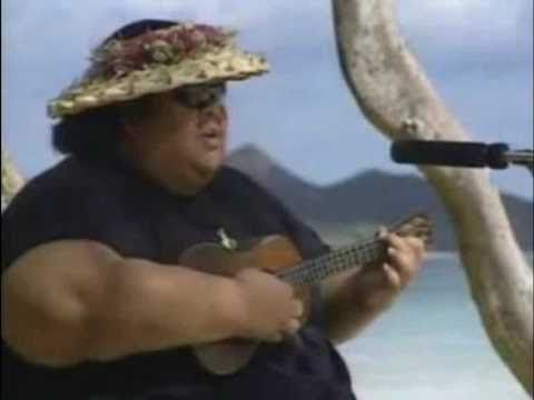 Israel Kamakawiwoʻole – Over The Rainbow / What A Wonderful World (1993)