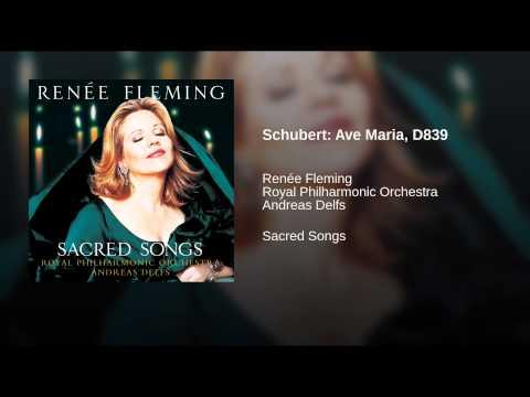 Renée Fleming – Franz Peter Schubert: Ellen's Third Song (Ave Maria), D839 (1825)