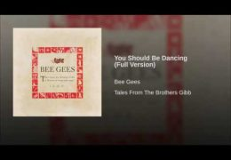 Bee Gees – You Should Be Dancing (1976)