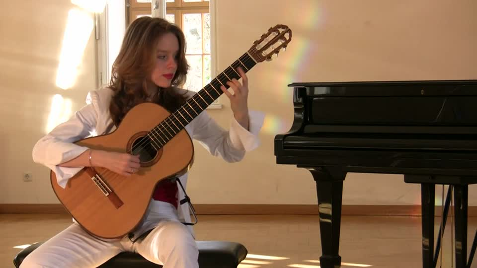 Tatyana Ryzhkova – Johann Sebastian Bach, Sonata II BWV 1003, Allegro (2013)