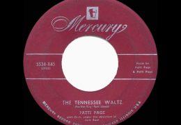 Patti Page – Tennessee Waltz (1950)