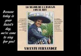 Vincente Fernandez – Las Mañanitas (1990)
